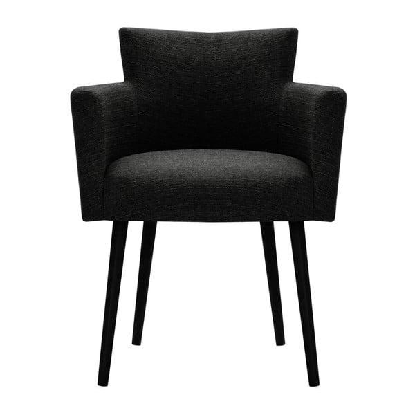 Černá židle Corinne Cobson Billie