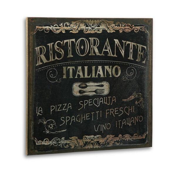 Dřevěný obraz Ristorante Italiano