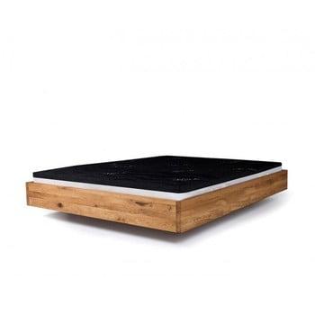 Pat din lemn de arin tratat cu ulei Mazzivo Pool, 120x200cm