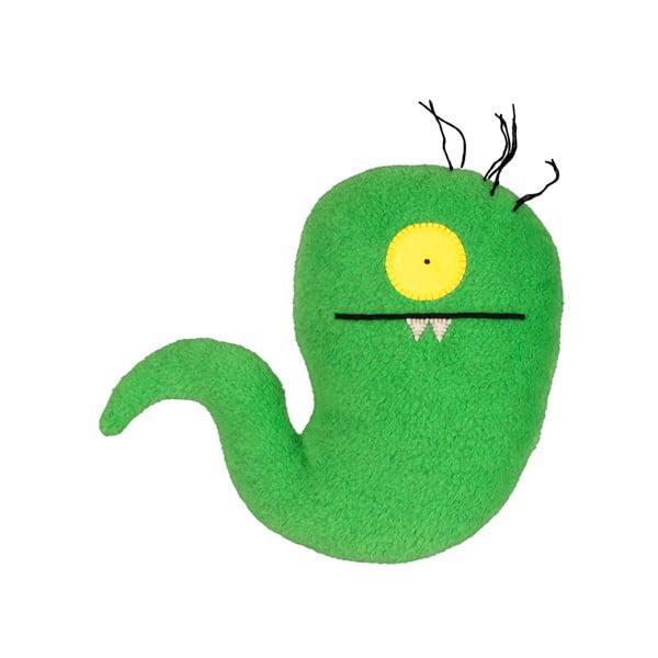 Hračka Uglydoll Worm zelený, malý