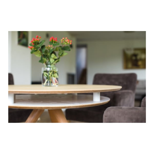 Šedý jídelní stůl Ragaba Triad