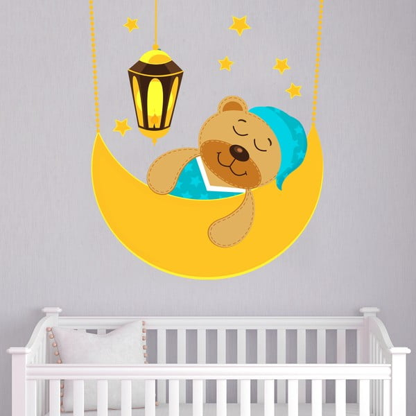 Samolepka na stěnu Sleeping bear