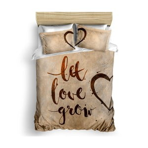 Sada ložního prádla ze 100 % ranforce bavlny The Club Cotton Grow Love