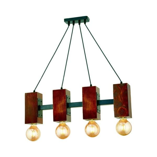 Závesné svietidlo z hrabového dreva Carina Quatro