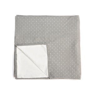 Šedá deka Mikabarr Folding, 180 x 160 cm