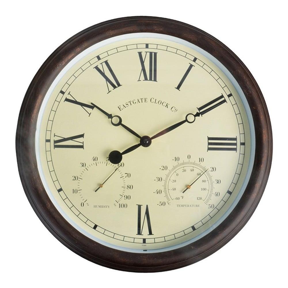 Venkovní nástěnné hodiny s římskými číslicemi Esschert Design