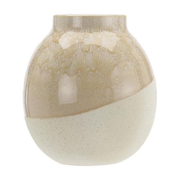 Skraa Whisper Pink bézs agyagkerámia váza, ⌀ 18 cm - A Simple Mess