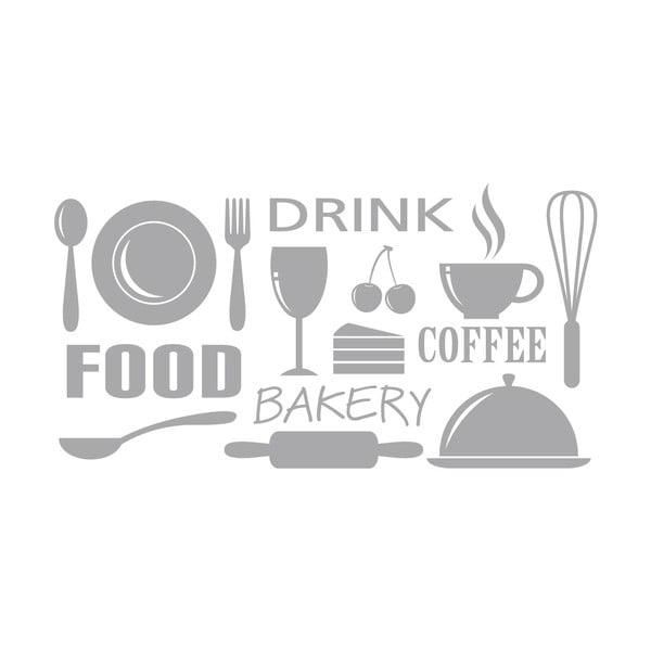 Samolepka Food, Drink, Coffee