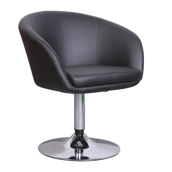 Křeslo/barová židle A322, černé
