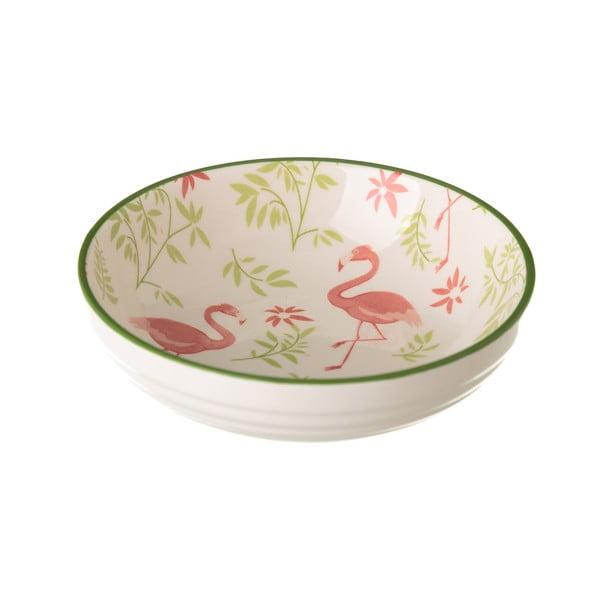Miska porcelanowa Unimasa Flamingo, ø12,6 cm