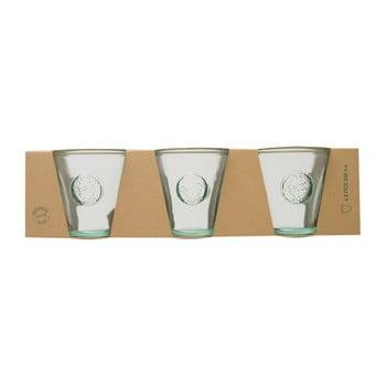 Set 3 pahare din sticlă reciclată Ego Dekor Authentic, 250 ml de la Ego Dekor