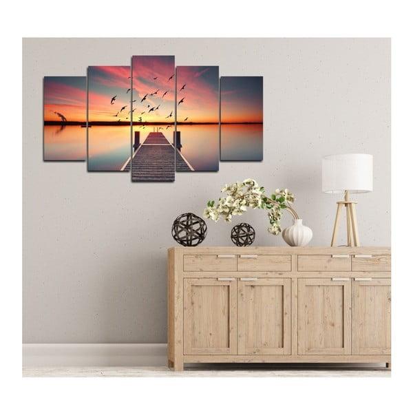 Tablou din mai multe piese Insigne Samira, 102 x 60 cm