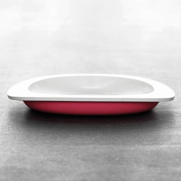 Dětský talíř, červený