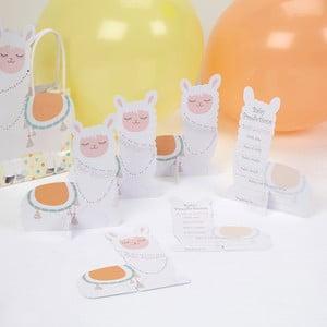 Sada 10 papírových kartiček Neviti Llama Love
