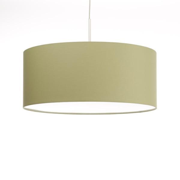 Zelené stropní světlo Artist, variabilní délka, Ø 60 cm