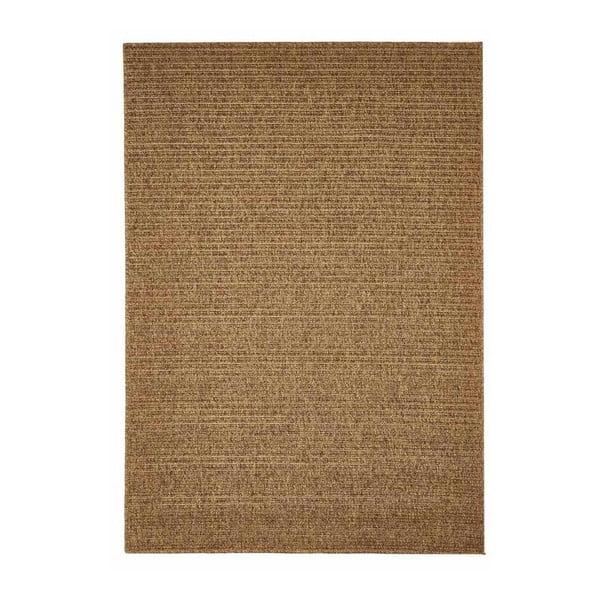 Covor foarte rezistent Floorita Plain, 133 x 190 cm, maro