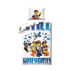 Dětské bavlněné povlečení Halantex Lego Movie, 140 x 200 cm