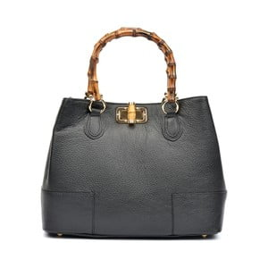 Černá kožená kabelka Roberta M Raena