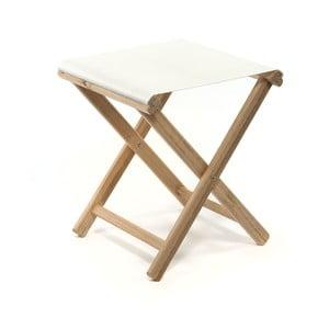 Skládací stolička Beach, bílá