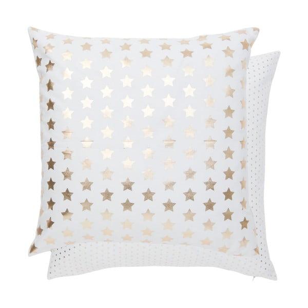 Povlak na polštář Gold Stars, 50x50 cm