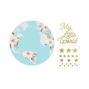 Nástěnná samolepka Dekornik My Little World Pastel, ø115cm