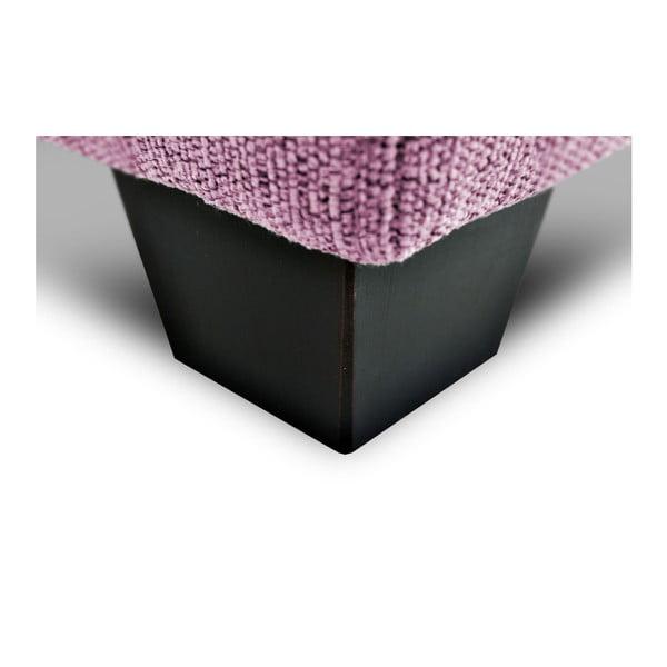 Růžová  trojmístná pohovka Vivonita Hugo