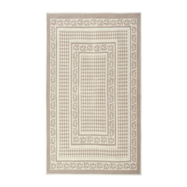 Krémový bavlněný koberec Floorist Regi, 120x180cm