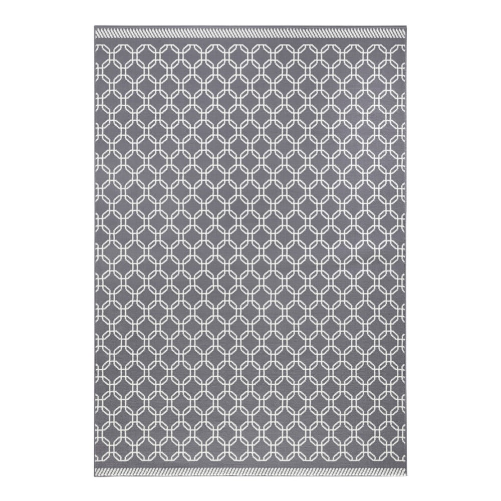 Šedý koberec Zala LivingChain, 200x290cm