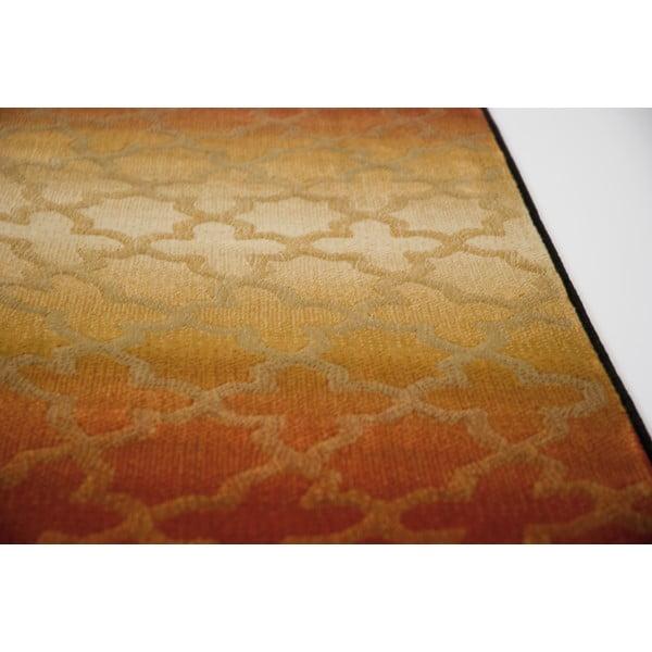Koberec Duero, 67x120 cm, hnědý