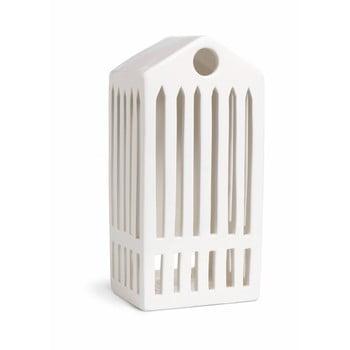 Sfeșnic din ceramică Kähler Design Urbania Lighthouse Pantheon, alb