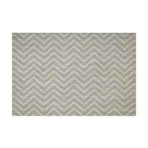 Vinylový koberec Tejido Chevron Gris, 100x150 cm