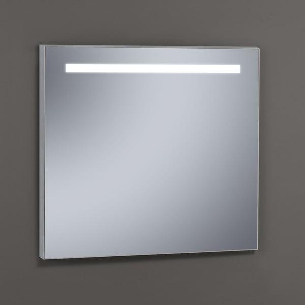 Zrcadlo s LED osvětlením Miroir, 80x80 cm