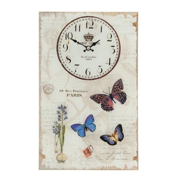 Nástěnné hodiny Paris, 25x40 cm