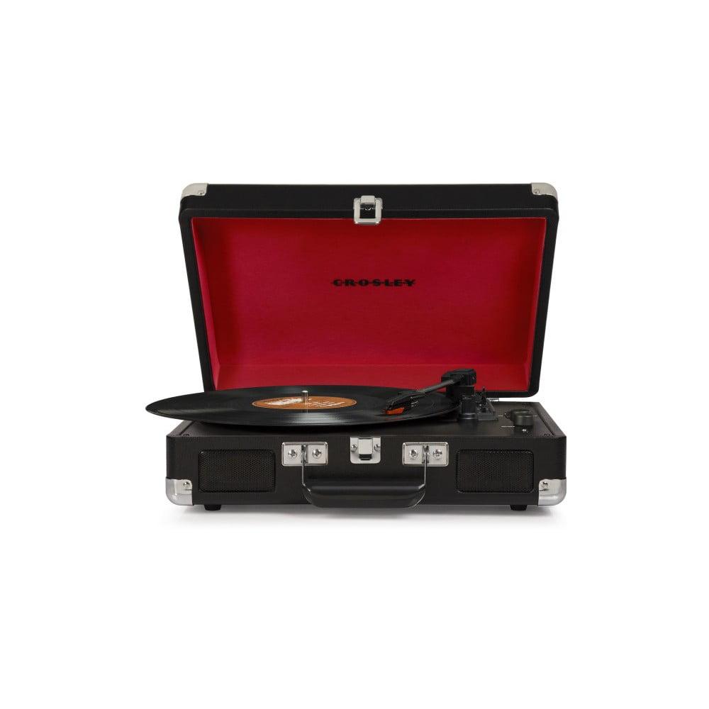 Černo-červený gramofon Crosley Cruiser Deluxe