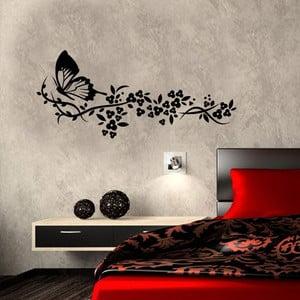 Vinylová samolepka na stěnu Motýl v přírodě