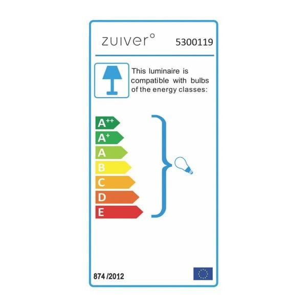 Stropní svítidlo v mosazné barvě Zuiver Gringo Flat