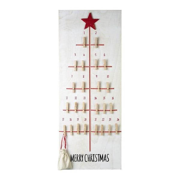 Adventní kalendář s kolíčky Parlane Advent