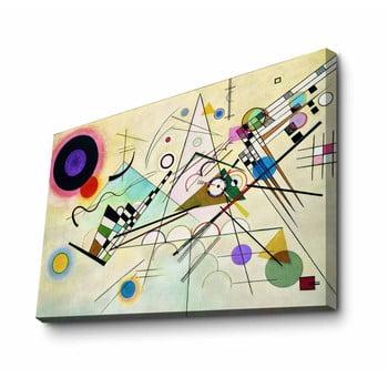 Reproducere tablou pe pânză Kandinsky, 100 x 70 cm