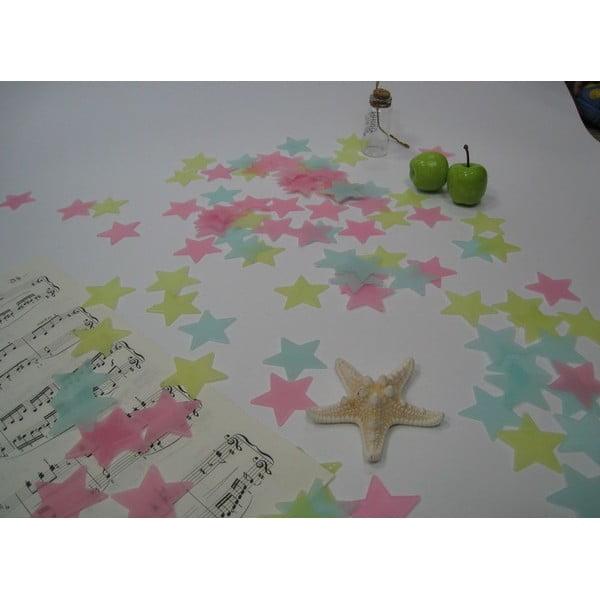 Set 100 steluțe fosforescente Ambiance Stars