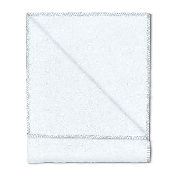 Sada 2 osušek Whyte 100x150 cm, bílá/šedá