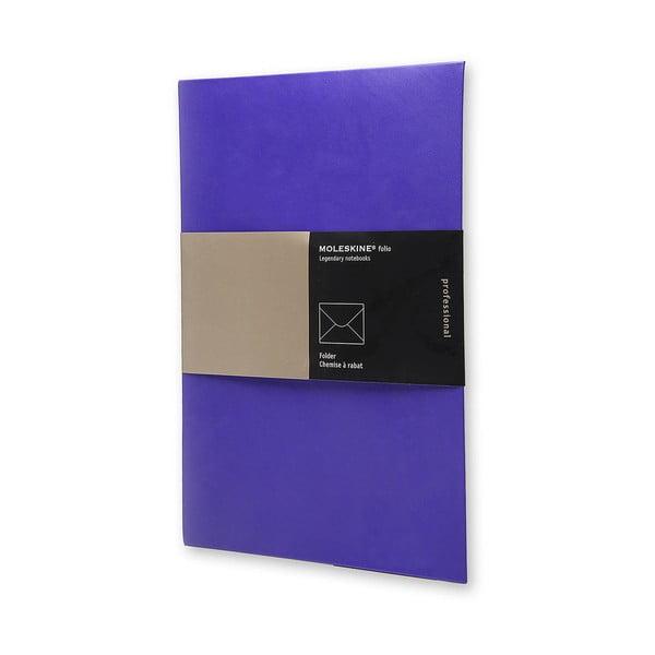 Papírová složka na dokumenty Moleskine Plum, A4