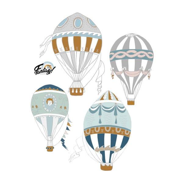 Ballons 4 db-os falmatrica szett - Dekornik