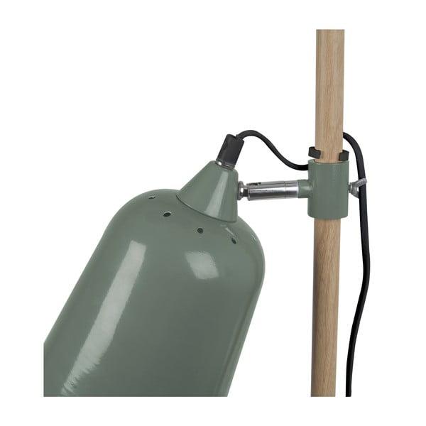Zelená stolní lampa  Leitmotiv  Wood