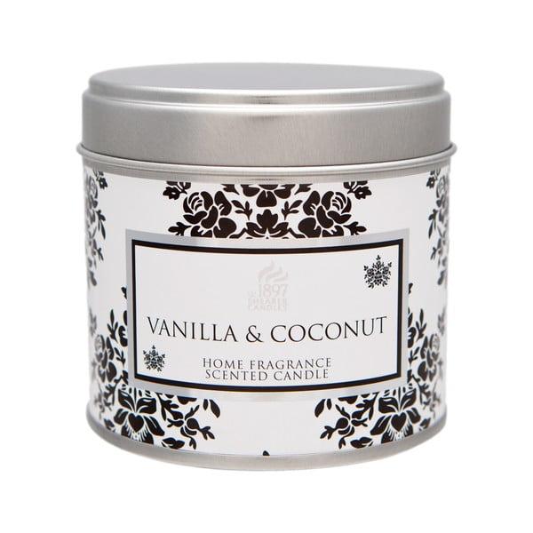 Vonná svíčka Spring Couture  40 hodin hoření, aroma vanilka a kokos