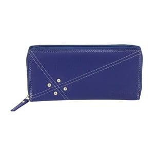 Modrá peněženka ztelecí kůže Friedrich Lederwaren Shoe