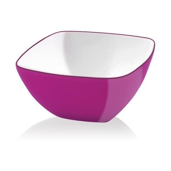 Růžová salátová mísa Vialli Design, 14cm
