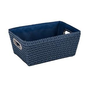 Modrý košík Wenko Bamboo Chromo
