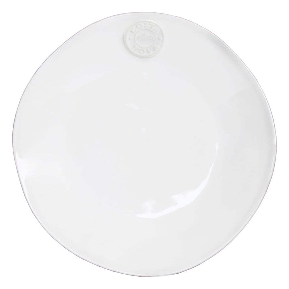 Bílý keramický dezertní talíř Ego Dekor Nova,Ø21 cm Costa Nova