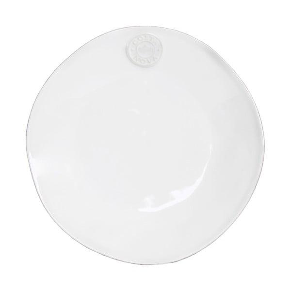 Bílý keramický dezertní talíř Ego Dekor Nova,Ø21 cm