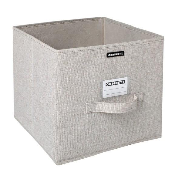 Úložný box Ordinett Linette, 28x28cm